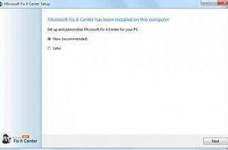 Microsoft Fix it para Windows 7, Windows 8, Windows 10 1