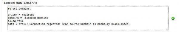 Como Bloquear una Cuenta para enviar correos en WHM/cPanel 2