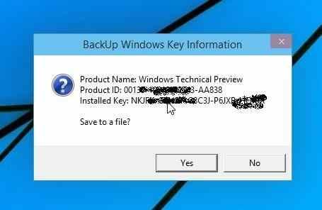 Como ver la Clave del producto de Windows 10, Windows 8 y Windows 7 3