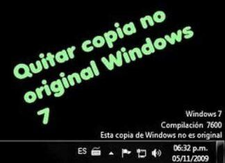 Solución al Mensaje: Esta copia de Windows no es Original🏴☠️ 1