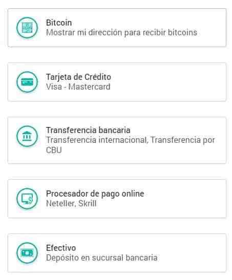 Comprar Bitcoin con Tarjeta de Credito (en Argentina CEPO)